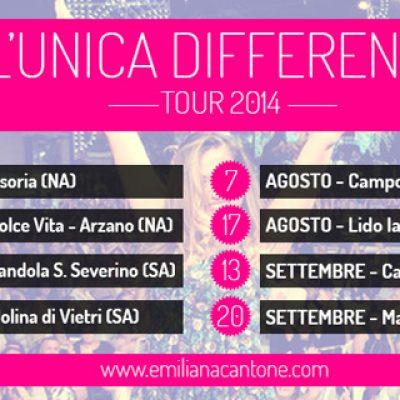Tour estivo di Emiliana Cantone