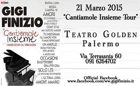 Concerto Gigi Finizio Palermo 2015