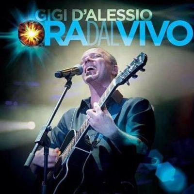 """""""Ora dal vivo"""" il nuovo cd di Gigi D'Alessio"""