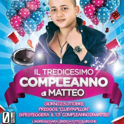 Il 13° compleanno di Matteo Milazzo, il piccolo cantante neomelodico