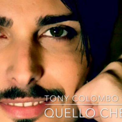"""Tony Colombo presenta """"Quello che vorrei"""" a Domenica Live"""